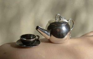 Tea set pendant presentation by fairyfrog