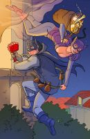 TLIID 109. Batman and Catwoman, Romeo and Juliet. by AxelMedellin