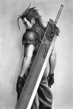 Final Fantasy - Zack Fair by KJS-1