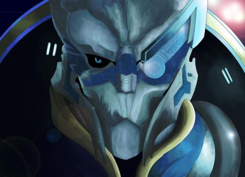 Garrus - Calibrate this! by skoppio