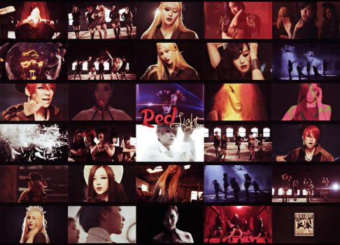 [Picspam] Red Light - F(x) by LuaKirazaki