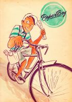 Paperboy by mathiole