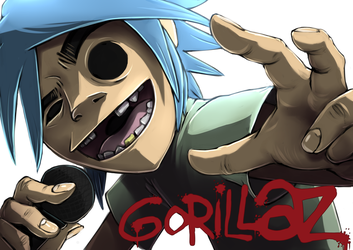Return of Gorillaz by puppkin