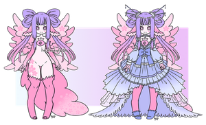 Eye of Ether Sakura Adopt Auction [Closed] by Hecateadopt