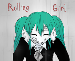 Rolling Girl by McMooffinz