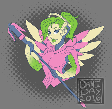 Overwatch Palette Challenge by FlantsyFlan