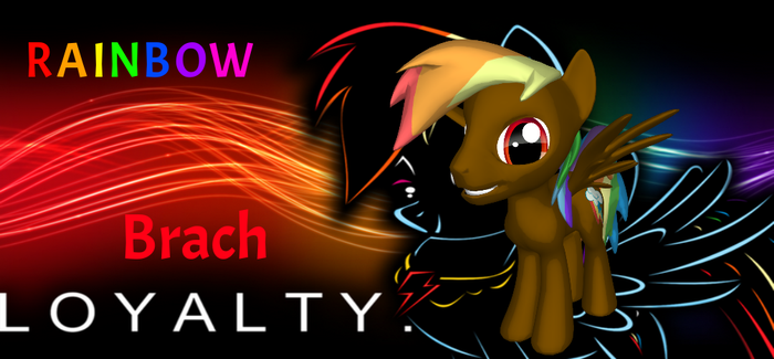 Racers Of Harmony: Rainbow Brach by PinkangelaBubblegum
