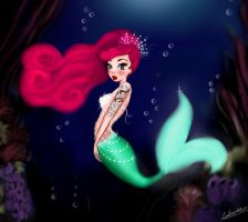 Revamped Little Mermaid by lulemee
