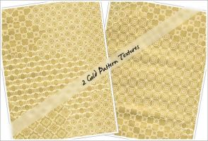 Gold Pattern Textures by cazcastalla