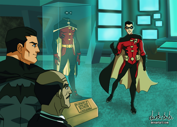 New Robin - TimDrake- Young Justice Style by dark-BuB
