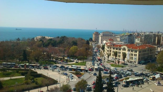 Thessaloniki by above by foxmarina