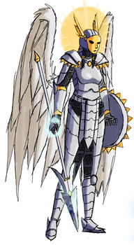 Pchat: Elite Angel Warrior by Daowg