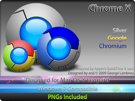 Google Chrome X by GCL721