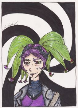 Hypni Art Trade with RandomStorytale by DrewCopenhaver