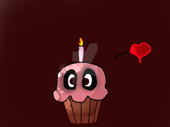 Speed Paint Cupcake By :Anny Dash by Antodemgetc