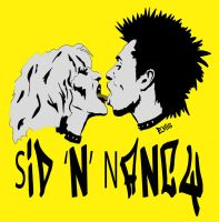 Sid N Nancy2 by Evlisking