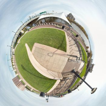 Hartford Bandshell - Planet by halley