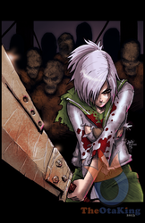 Riven vs Zombies colored version by sykoeent