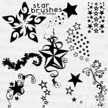 star brushes by darknesshcr