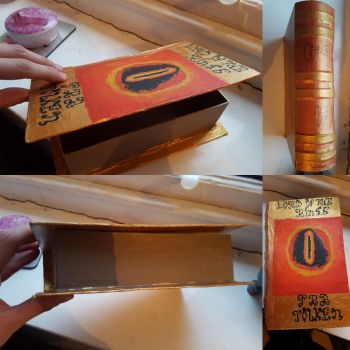 W.I.P shots of the Lord of the Rings keepsake box. by MadameButterfly94