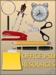 Office .PSD Resources by Lukasiniho