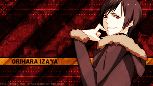PSP WP - Orihara Izaya by hiiragi-the-tempest