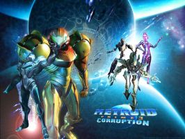 Metroid Prime 3 Wallpaper by TheDarknessOfLight
