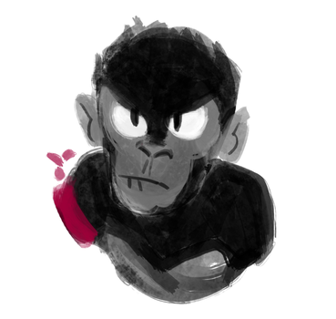 monkey by AnyThe
