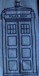 The TARDIS Cross Stitch by caysipena