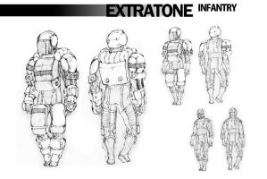character sheet - infantry by BCEman