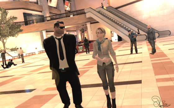 At the Mall. by SeductiveSoldier64