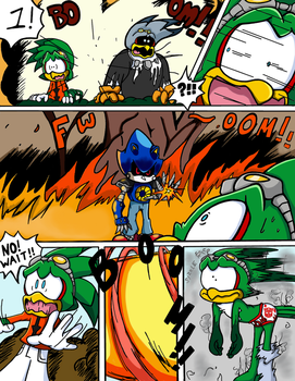 Sonic Survivor Island - Pg.9: Instant Chaos by SDCharm