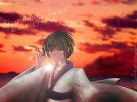 APH  Stay strong, Japan by DarkNekoChi