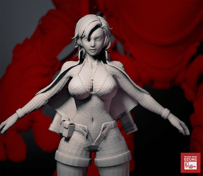 Exparia - WIP - wireframe by phungdinhdung