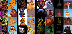 Five Nights at Lion King's Recast Meme by NightmareBear87