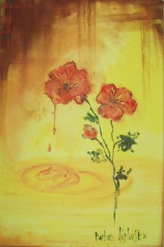 dreaming about poppies by baila