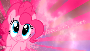 'Somepony says hugs?' Pinkie Pie Wallpaper by BlueDragonHans