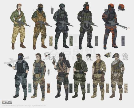 soldiers by marksanwel