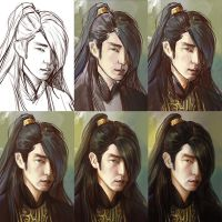 Wang So progress by TanyaGreece