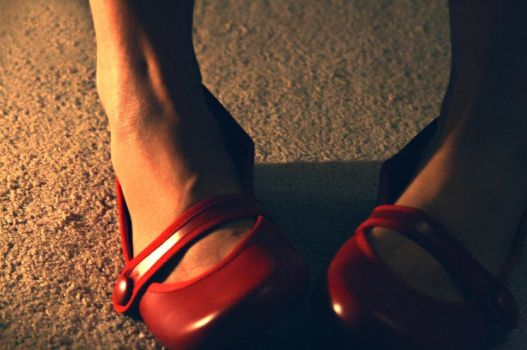 Red Shoes by GeorgiaFlower