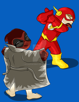 Flashing the Flash by KCoopWorks