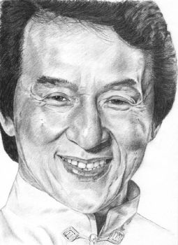 Jackie Chan by capconsul