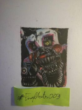 Nightmare Mangle (400 watchers special) by FnafArts003