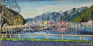 Horeshoe bay glory - cause its fun to paint by Dennis64