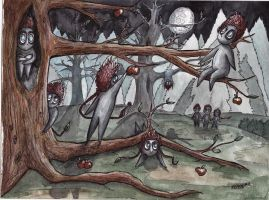 .Little forest spirits. by CHaTeRe