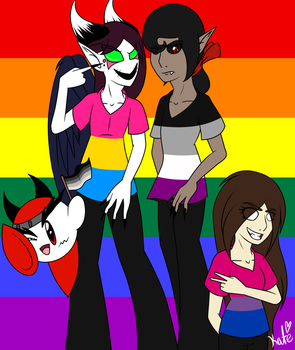 Proud of Who We Are (Pride Month) by KATEtheDeath1