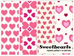 Sweetheart pattern repeats by melemel