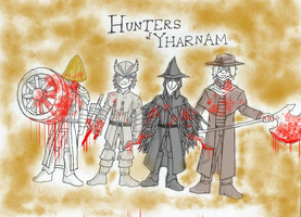 The Hunters of Yharnam by TheAwesomeArmoredGuy