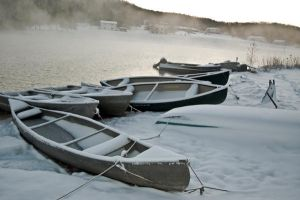 Cold day for a boat ride 2007 by yamiyalo