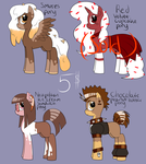 Dessert pony adopts -Open- (Money payment only) by Glitched-Irken